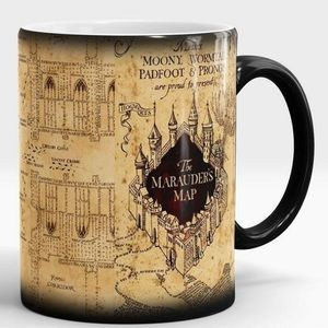 Morphing Mugs HP Marauders Map Ceramic Coffee Mug